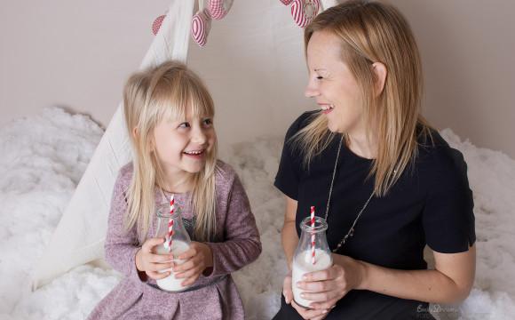 Mama i Córka – sesja świąteczna 2016