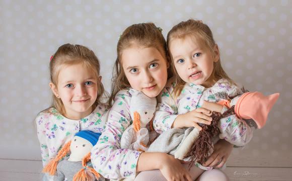 Marysia, Asia, Gosia – sesja Rodzinna – Warszawa